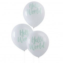 10 ballons Hello World