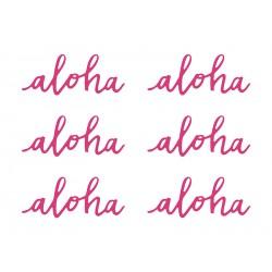 """Décoration en papier """"Aloha"""""""