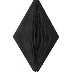 3 mini diamants 8 cm-Noir