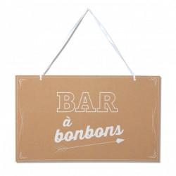 2 pancartes candy bar