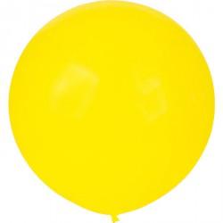Ballon géant -jaune citron