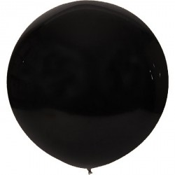Ballon géant -noir