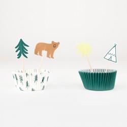 Kit cupcake Let's explore