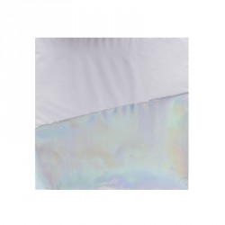 16 serviettes iridescentes
