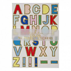 Alphabet Stickers - Couleur  Meri Meri