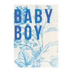 """Carte Naissance """"Baby Boy"""""""