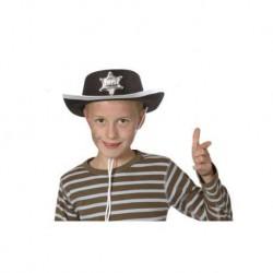 Chapeau shériff Kid noir