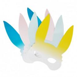 8 masques de lapin
