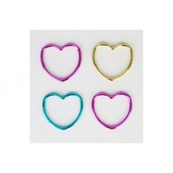 12 bracelets  coeur