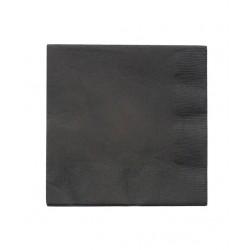 20 serviettes en papier - noir