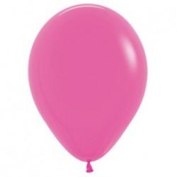 10 ballons fuschsia