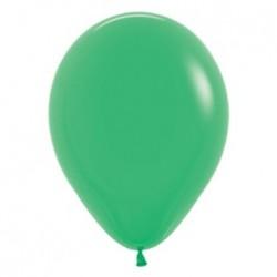 10 ballons vert jade