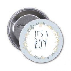 "Badge ""It's a Boy"""