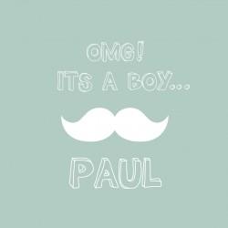 """Faire-part """"Paul"""""""