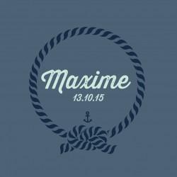 """Faire-part """"Maxime"""""""