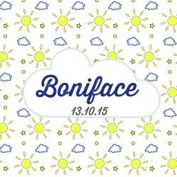 """Faire-part """"Boniface"""""""