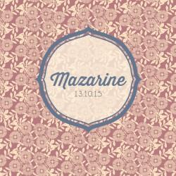 """Faire-part """"Mazarine"""""""