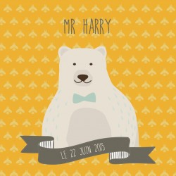 """Faire-part """"Harry"""""""