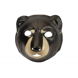 Masque ours brun