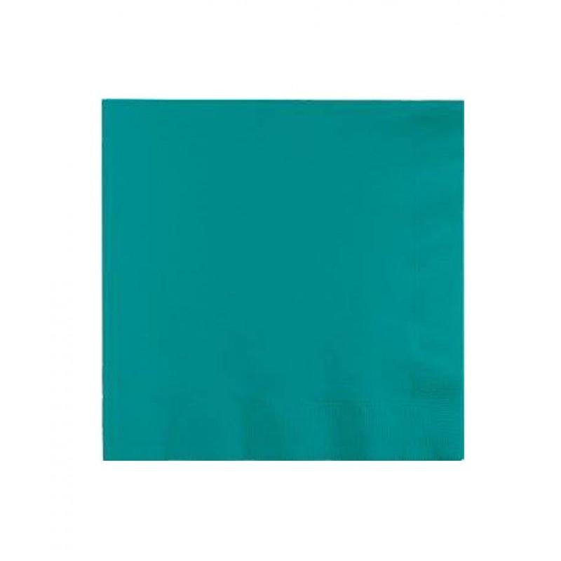 Serviette papier turquoise table de cuisine for Serviette cuisine