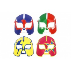 """8 masques """"catcheur"""" phosphorescents"""