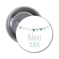 "Badge à personnaliser ""Alexi"""