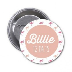 "Badge à personnaliser ""Billie"""