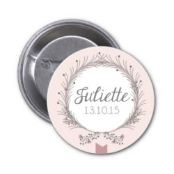 "Badge à personnaliser ""Juliette"""