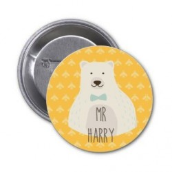 "Badge à personnaliser ""MR Harry"""