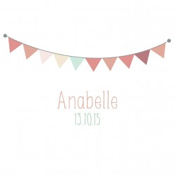 "Faire-part ""Anabelle"" PDF"