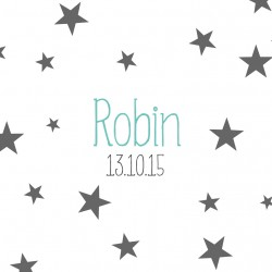 "Faire-part ""Robin"" PDF"