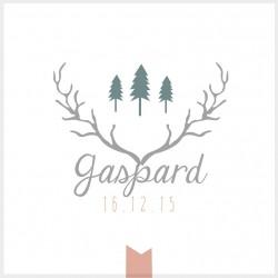 """Faire-part """"Gaspard"""""""
