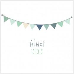 """Faire-part """"Alexi"""""""