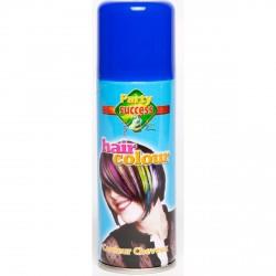 Laque pour cheveux -bleu