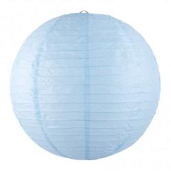 Lanterne japonaise bleu clair