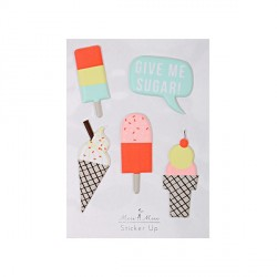 Stickers en 3D Glace-Ice cream