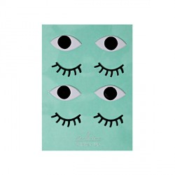 Stickers en 3D  Eyes-Yeux