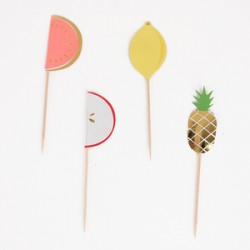 "Cake toppers"" fruit"" Meri Meri"