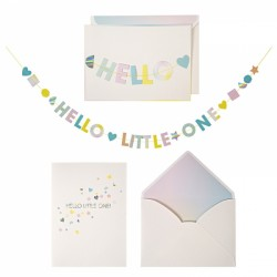 "Carte ""Hello little one"" Meri Meri"
