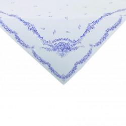 Nappe porcelaine bleue