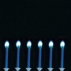 Bougie flamme bleue