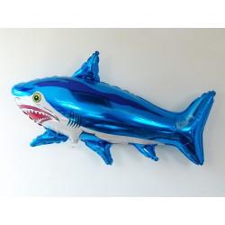Ballon aluminium mylar requin