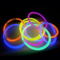 Tube de 100 bracelets glow