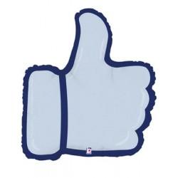 Ballon mylar aluminium-Pouce Thumbs up