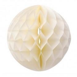 Boule alvéolée crème