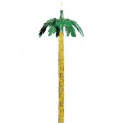 Suspension mylar en forme de palmier
