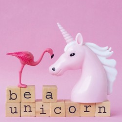 Carte Licorne - Be A Unicorn