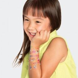 1 planche de tattoo: Charm party set