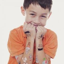 Tattoo éphémère - Lot de 8 - Kids mix
