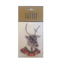 Tattoo éphémère parfumé - Lot de 2 - Reindeer